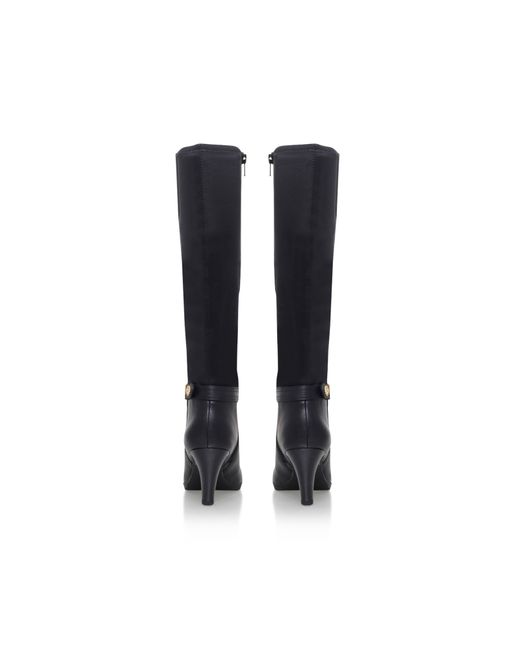 Anne Klein | Black Delray High Heel Knee Boots | Lyst