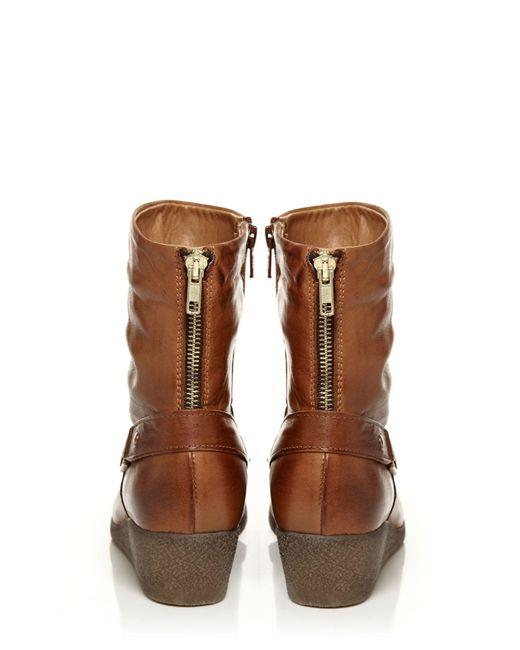 Moda In Pelle | Brown Adonias Wedges | Lyst