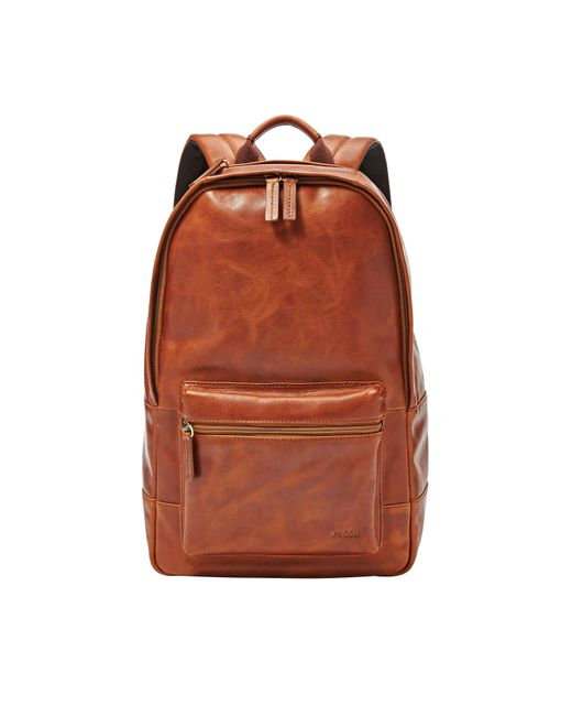 Fossil | Brown Estate Backpack for Men | Lyst