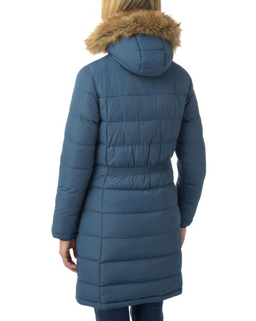 Tog 24 Freeze Womens Tcz Thermal Winter Jacket In Blue