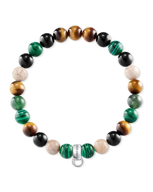 Thomas Sabo | Green Charm Club Multi-colour Charm Bracelet | Lyst