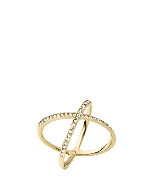 Michael Kors | Metallic Mkj4171710 Ladies Ring | Lyst