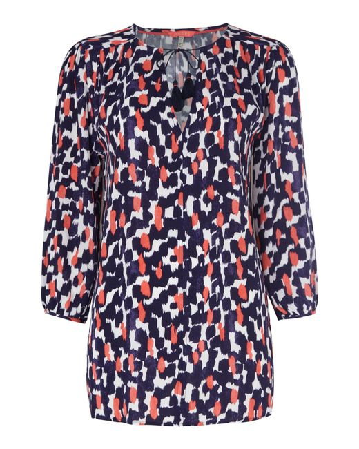 Joules | Blue Tunic | Lyst