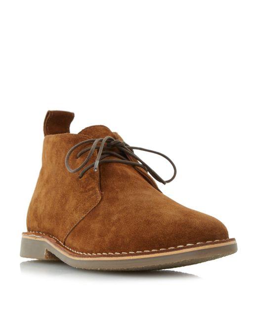 Howick | Brown Caughts Desert Boots for Men | Lyst