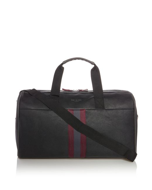 Ted Baker | Black Osprey Webbing Holdall Bag for Men | Lyst