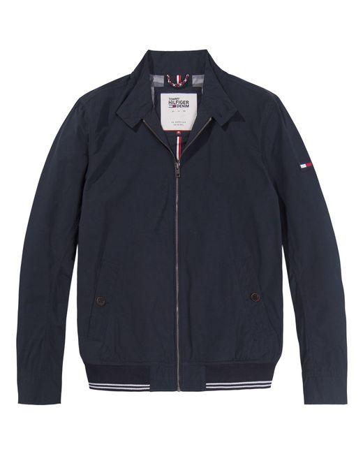 Tommy Hilfiger | Blue Basic Harrington Jacket for Men | Lyst
