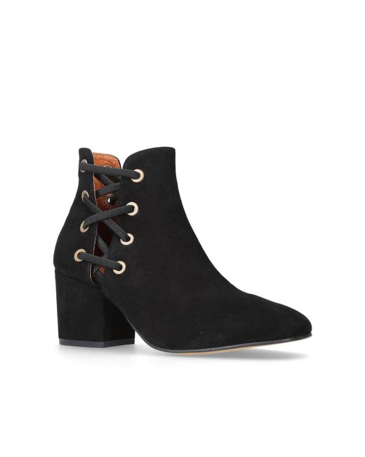 H by Hudson   Black Kris Ankle Boots   Lyst