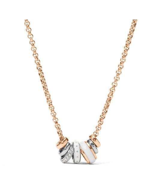 Fossil | Metallic Jf01122998 Ladies Bracelet | Lyst