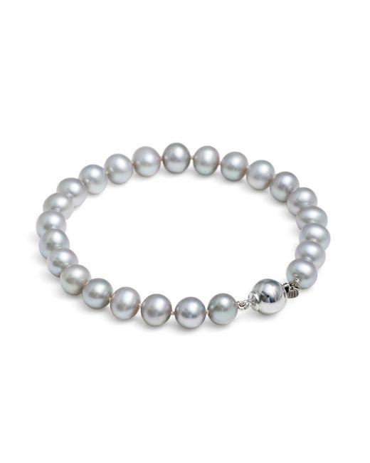 Jersey Pearl   Metallic Silver Medium Pearl Bracelet   Lyst