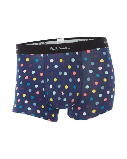 Paul Smith | Blue Men's Spotted Trunk for Men | Lyst