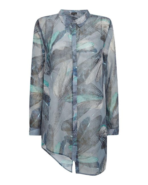 Label Lab - Green Harley Dragonfly Print Blouse - Lyst