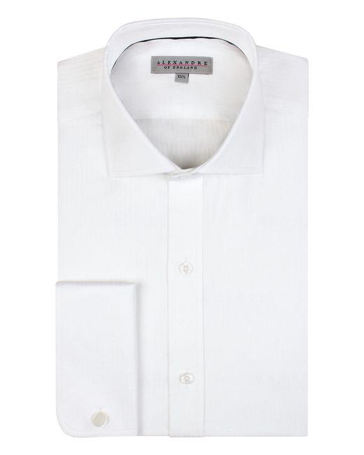 Alexandre Of England - Men's Storrs White Diagonal Stripe Shirt for Men - Lyst
