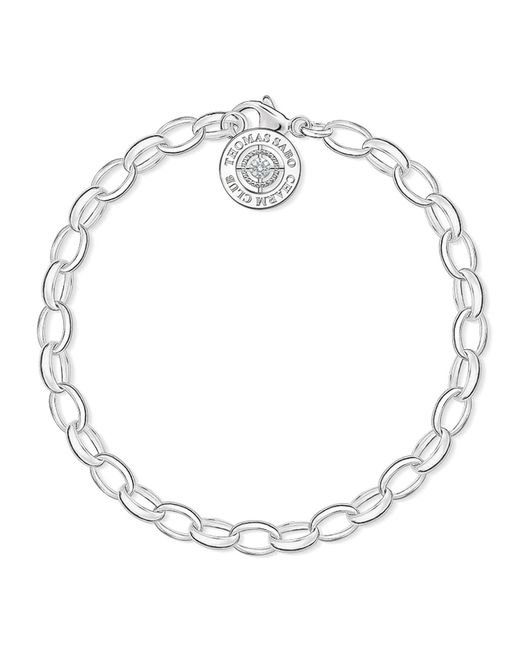 Thomas Sabo - Metallic Charm Club Diamond Charm Bracelet - Lyst