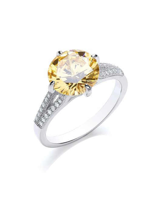 Bouton - Metallic Brilliant Bling Ring - Lyst