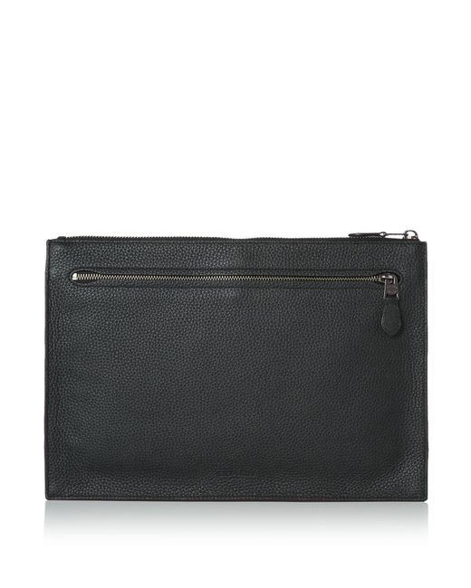 COACH - Black Manhattan Convertible Portfolio for Men - Lyst