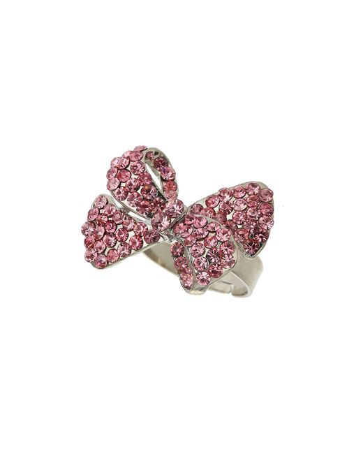 Mikey - Pink Bow Ring - Lyst