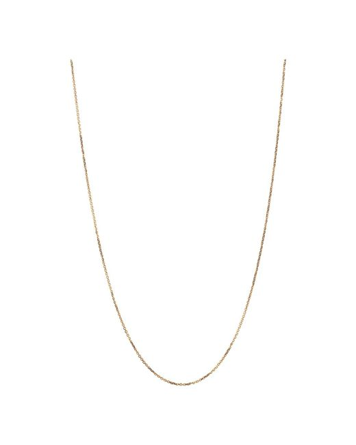 Links of London - Metallic Rose Gold Dc Cable Chain 1mm 45cm - Lyst