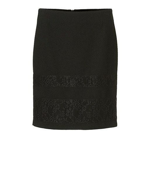 Betty Barclay | Black Textured Lace Skirt | Lyst