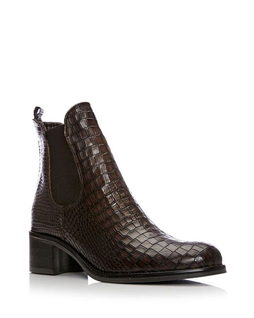 Moda In Pelle - Brown Colino Medium Smart Short Boots - Lyst