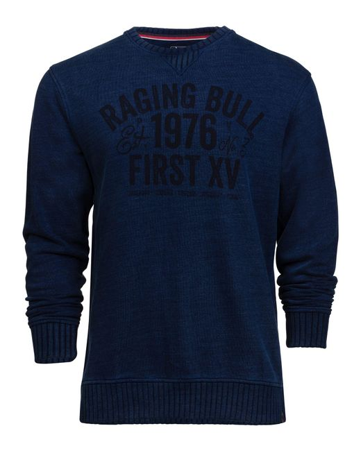 Raging Bull | Blue Big And Tall Graphic Jersey Sweat for Men | Lyst