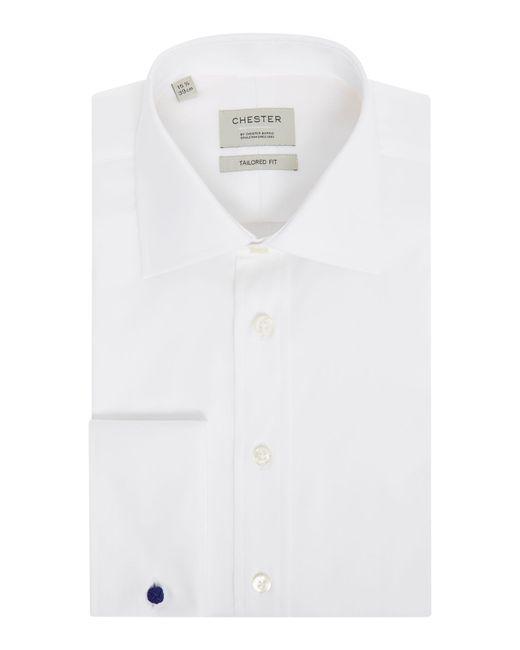 Chester Barrie - White Men's Royal Oxford Shirt for Men - Lyst