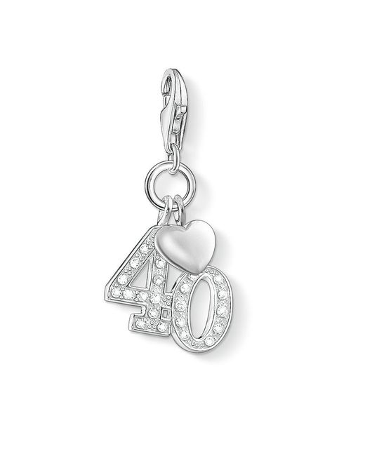 Thomas Sabo - Metallic Charm Club 40 Pendant - Lyst