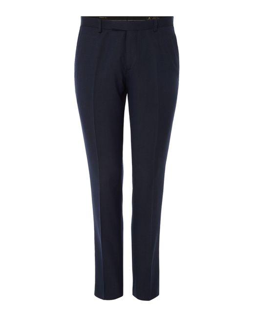 Label Lab | Blue Men's Dylan Tuxedo Suit Trousers for Men | Lyst