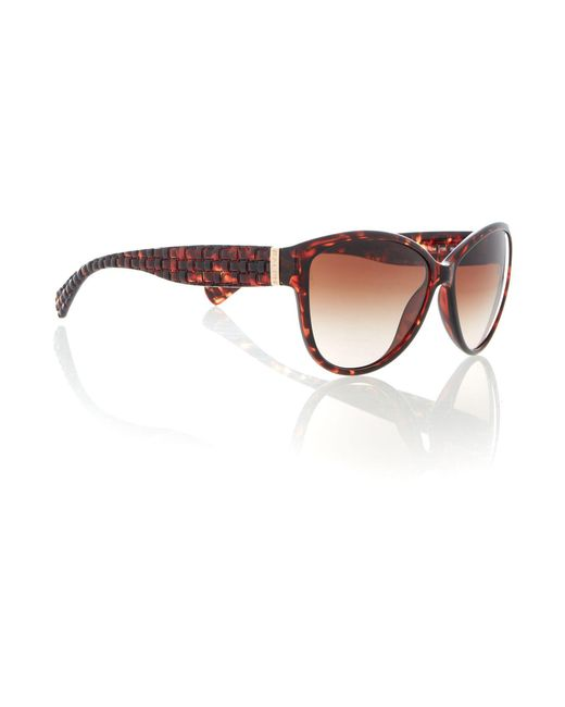 Ralph | Brown Ra5176 Cat Eye Sunglasses | Lyst