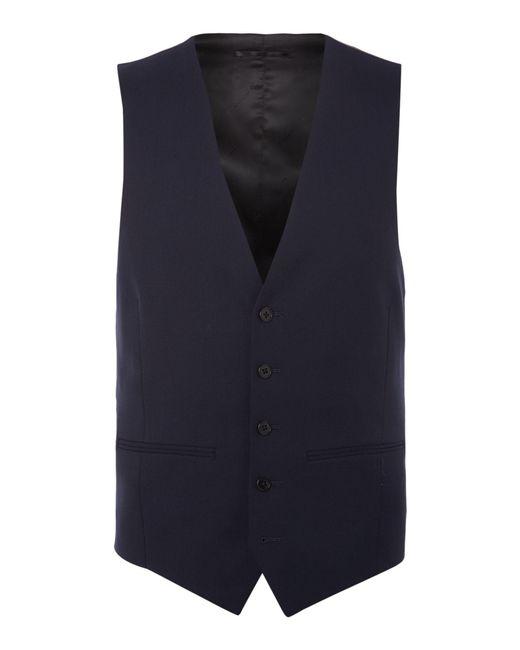 Kenneth Cole - Blue Hudson Panama Suit Waistcoat for Men - Lyst