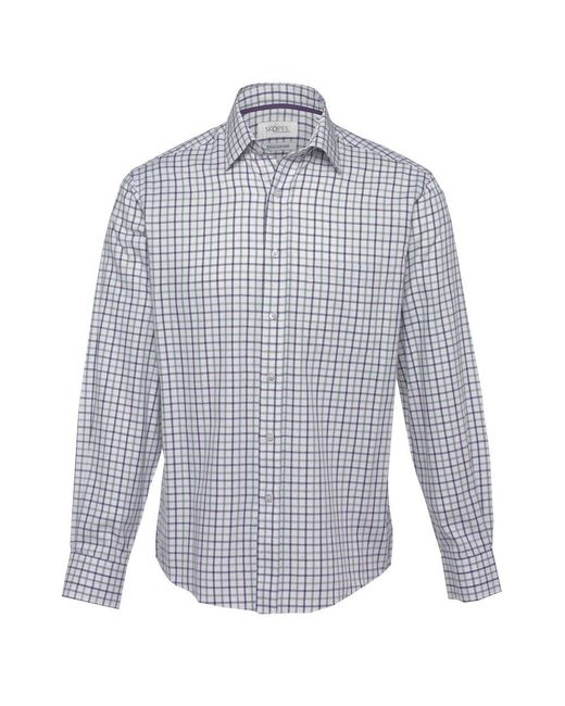 Skopes - Purple Country Check Shirt for Men - Lyst