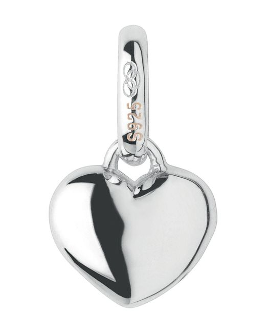 Links of London - Metallic Mini Slim Heart Charm - Lyst