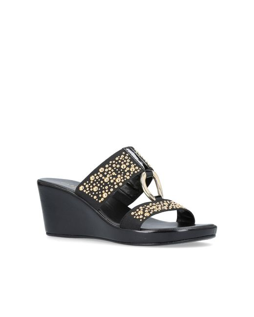 Carvela Kurt Geiger | Black Salt Sandals | Lyst