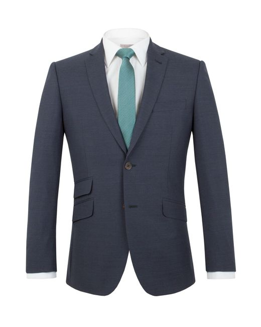 Racing Green - Blue Men's Ward Puppytooth Tailored Jacket for Men - Lyst
