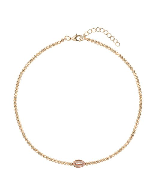 Mikey | Metallic Spiral Crystal Ball Metal Necklace | Lyst