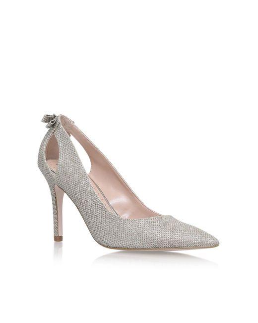 Miss Kg | Metallic Sayde High Heel Sandals | Lyst