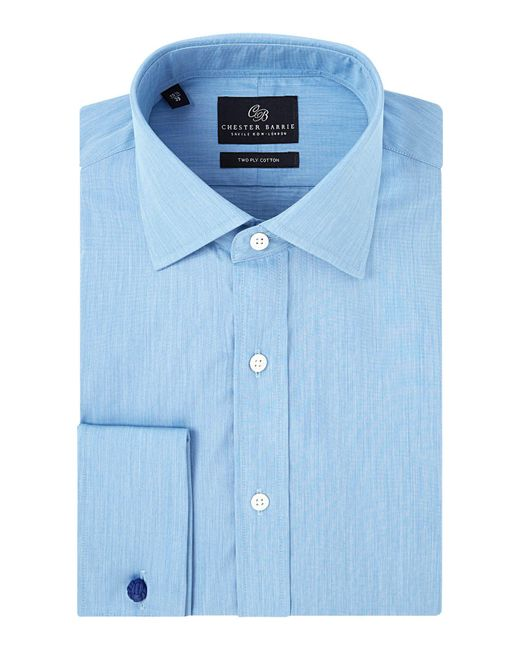 Chester Barrie | Blue Contemporary Eoe Shirt for Men | Lyst