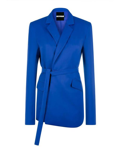 House of Holland - Blue Tailored Suit Jacket - Lyst