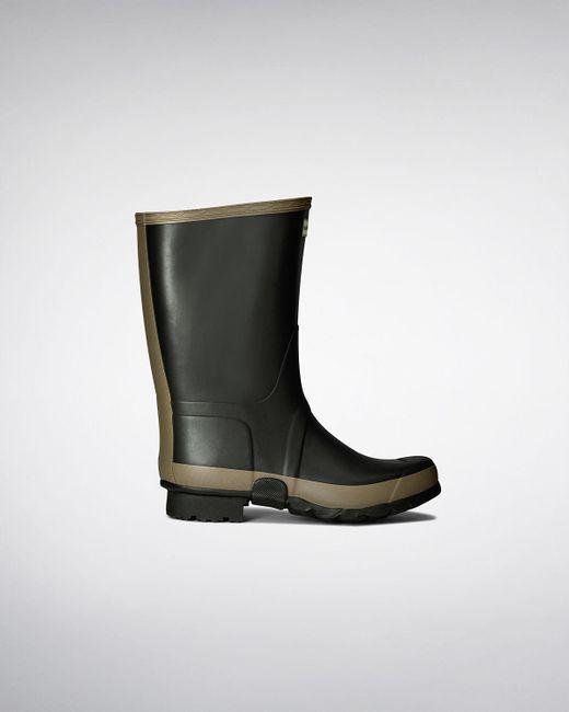 Hunter - Green Women's Gardener Wellington Boots - Lyst