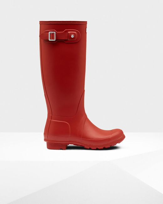 Hunter | Red Women's Original Short Wellies | Lyst