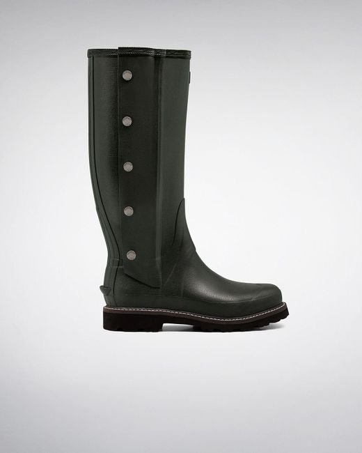 Hunter   Brown Men's Balmoral Side Zip Wellington Boots for Men   Lyst