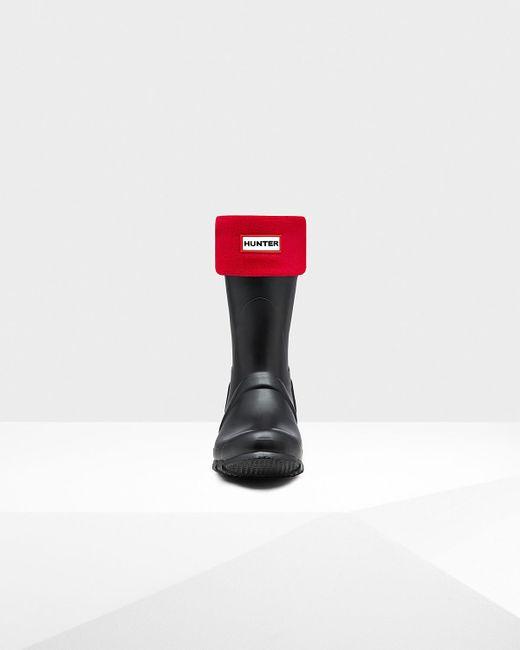 Hunter | Red Unisex Short Boot Socks | Lyst