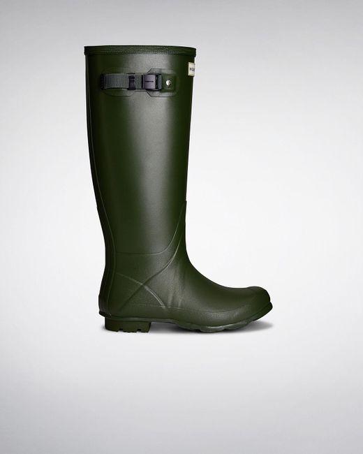 Hunter | Green Women's Norris Field Neoprene Lined Wellington Boots | Lyst