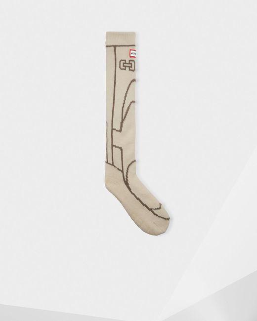 Hunter - Natural Original Boot Slipper Sock for Men - Lyst