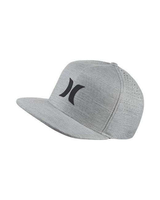 Lyst - Hurley Icon Dri-fit Adjustable Hat (grey) - Clearance Sale in ... 0da4f289f8e9