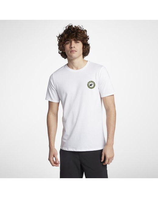 Hurley - White Prowler Dri-fit T-shirt for Men - Lyst