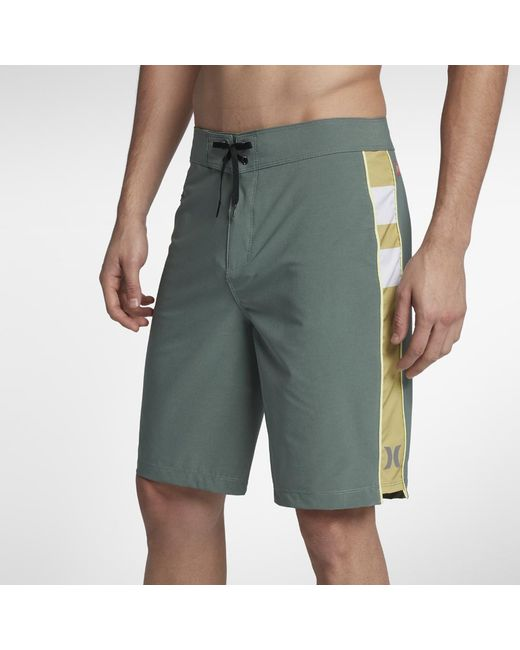 "Hurley - Green Phantom Jjf 4 20"" Board Shorts for Men - Lyst"