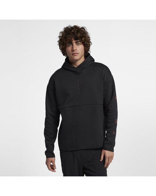 Hurley - Black Surf Check Sirens Pullover Fleece Hoodie for Men - Lyst