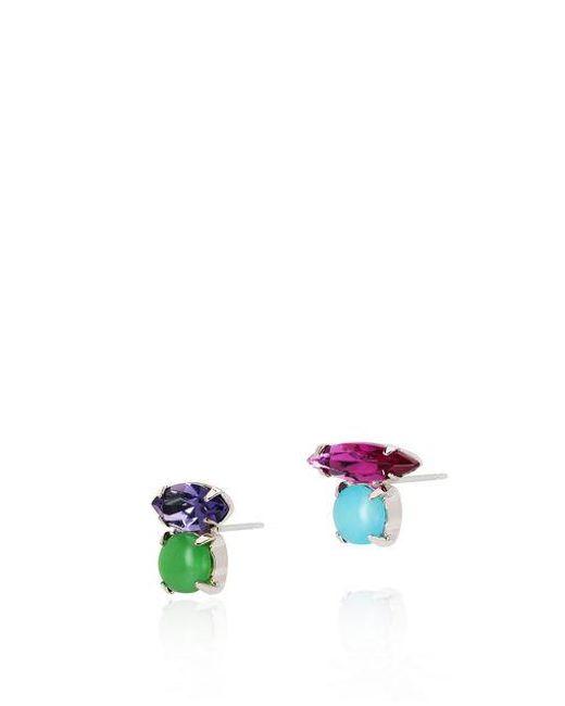Joomi Lim Candy Crush Crystal Floating Stud Earrings Multi Jewels MTqAitVN
