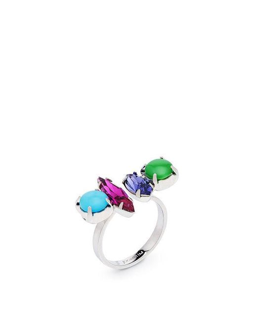 Joomi Lim | Multicolor Candy Crush Crystal Open Ring | Lyst