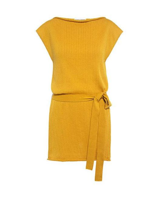 Finders Keepers - Yellow Remember Me Knit Top - Lyst
